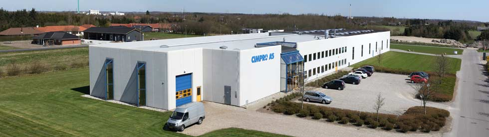 Cimpro A/S - Comprehensive machining services