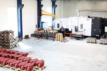 Cimpro has large heated workshops suitable for handling large items.